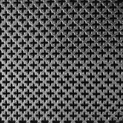 6x6 perforated panel